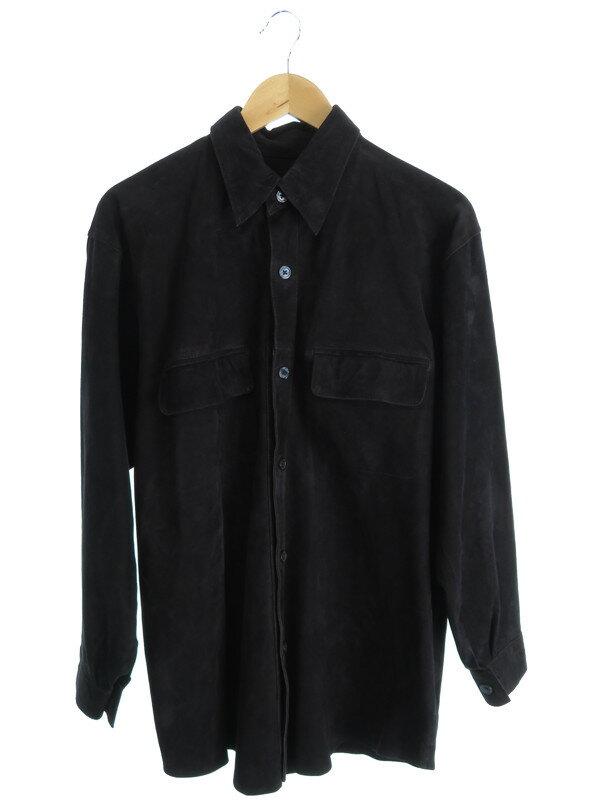 【Brioni】【ROMA】【トップス】ブリオーニ『スエードシャツジャケット』メンズ 1週間保証【中古】