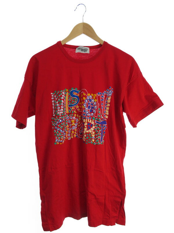 【MISSONI SPORT】【トップス】ミッソーニスポーツ『半袖Tシャツ sizeM』メンズ 1週間保証【中古】