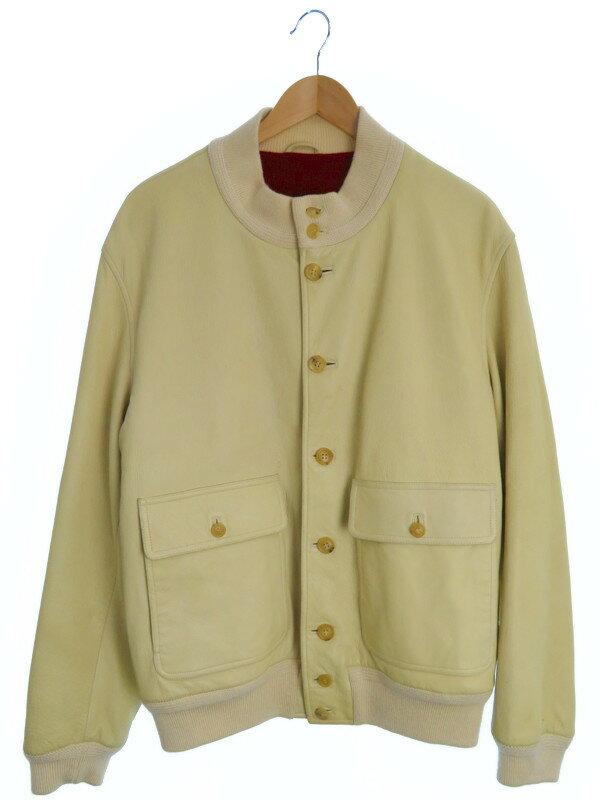 【Salvatore Ferragamo】【アウター】フェラガモ『レザージャケット size52』メンズ 1週間保証【中古】