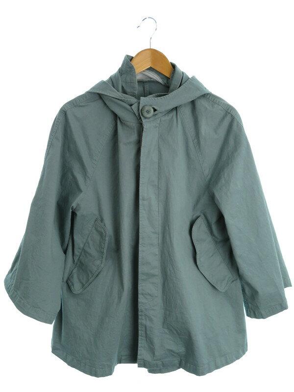 【Lily Brown】【アウター】リリーブラウン『フード付七分袖ジャケット sizeF』レディース 1週間保証【中古】