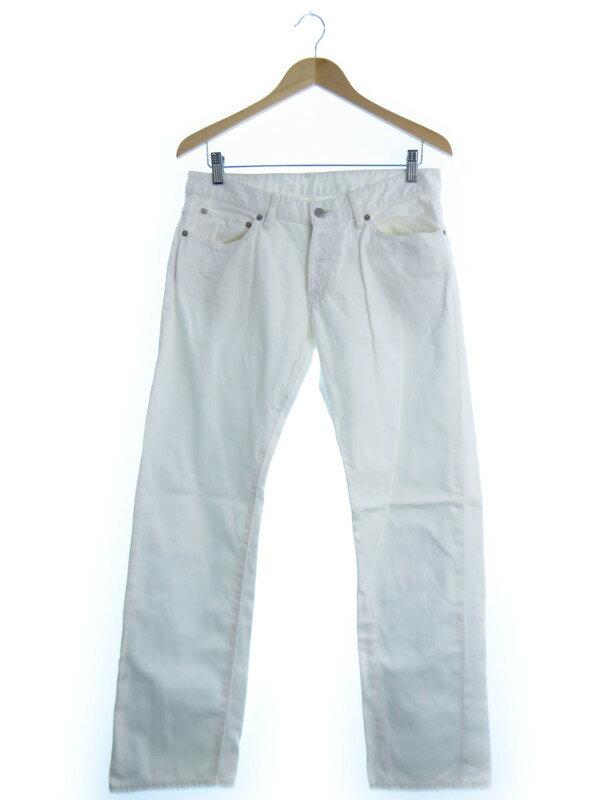 【TAKEO KIKUCHI】【ボトムス】【ジーンズ】タケオキクチ『カラーデニムパンツ size3』メンズ 1週間保証【中古】