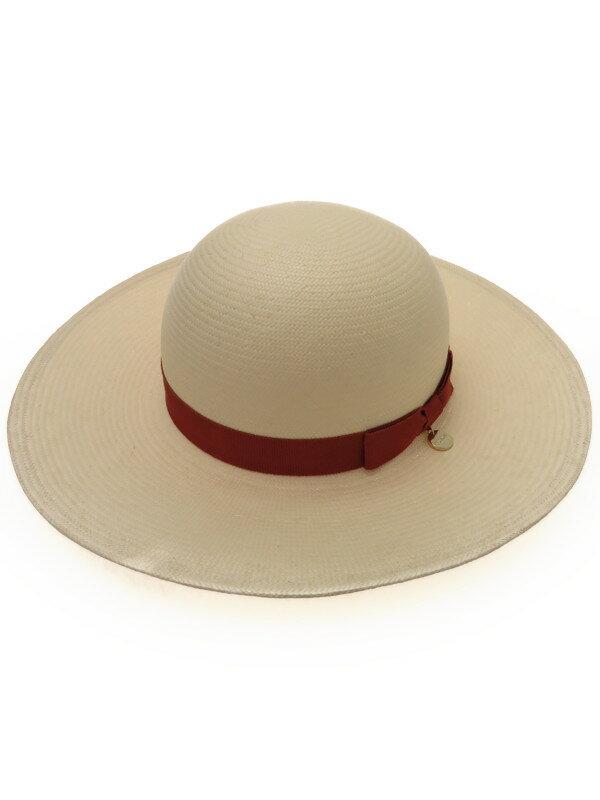 【FURLA】【帽子】フルラ『リボン付きハット sizeS~M』レディース 帽子 1週間保証【中古】