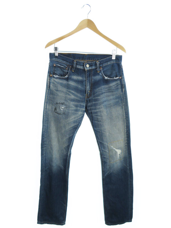 【LEVIS】【ジーパン】【ボトムス】リーバイス『505 ジーンズ sizeW31』メンズ デニムパンツ 1週間保証【中古】