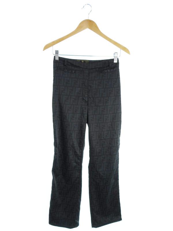 【FENDI】【ボトムス】フェンディ『パンツ size40』レディース スラックス 1週間保証【中古】