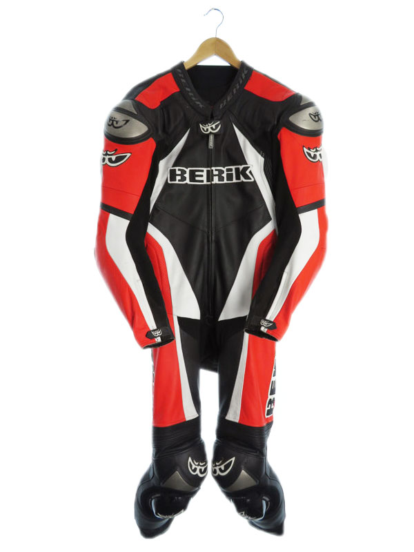 【BERIK】【つなぎ】ベリック『レーシングスーツ sizeXXLW』メンズ オールインワン 1週間保証【中古】