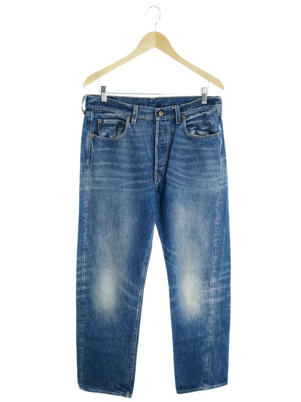 【LEVIS】【ジーパン】【ボトムス】リーバイス『501 ジーンズ sizeW33』メンズ デニムパンツ 1週間保証【中古】