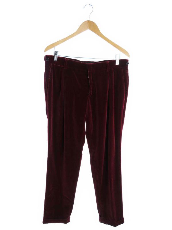 【Dolce&Gabbana】【ボトムス】【ドルガバ】ドルチェアンドガッバーナ『ベロアパンツ』メンズ ズボン 1週間保証【中古】
