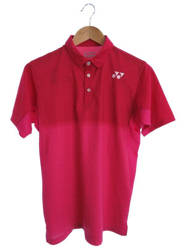 【YONEX】【2ピース】【スポーツウエア】ヨネックス『半袖シャツ ハーフパンツ 上下セット sizeS』メンズ セットアップ 1週間保証【中古】
