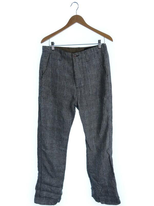 【nonnative】【ボトムス】ノンネイティブ『チェック柄パンツ size1』メンズ 1週間保証【中古】
