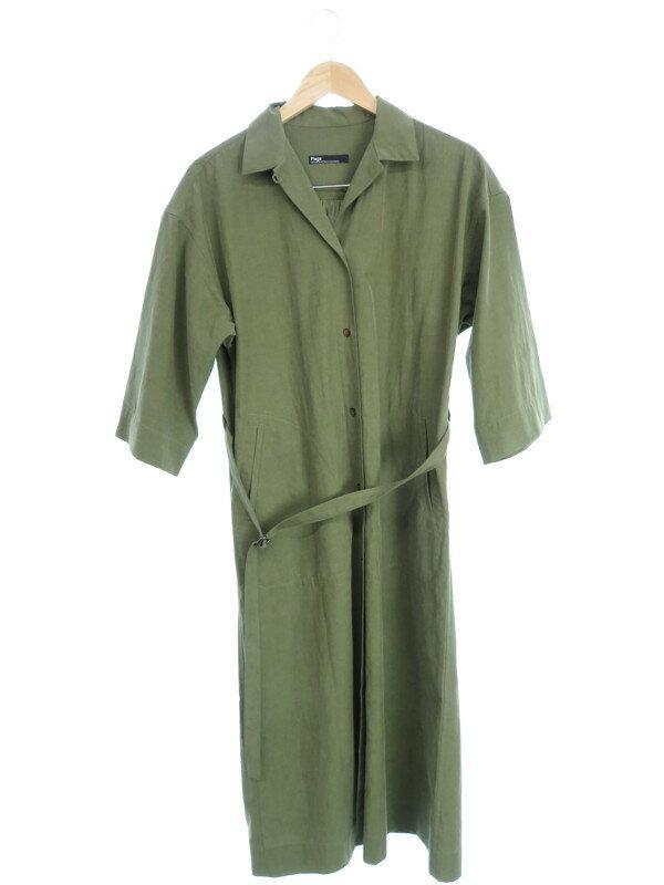 【Plage】【アウター】プラージュ『ロングシャツコート size36』レディース 1週間保証【中古】