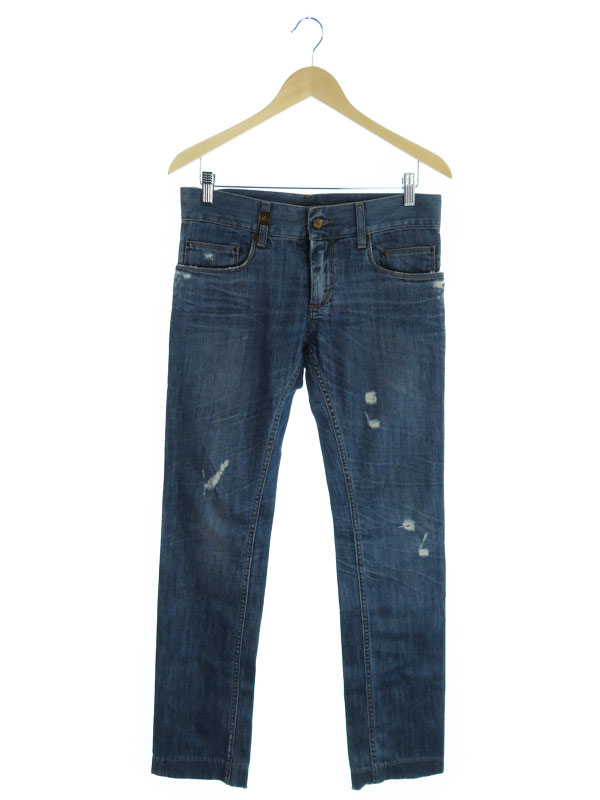 【DOLCE&GABBANA】【ボトムス】【ジーパン】【ドルガバ】ドルチェアンドガッバーナ『ジーンズ size44』メンズ デニムパンツ 1週間保証【中古】