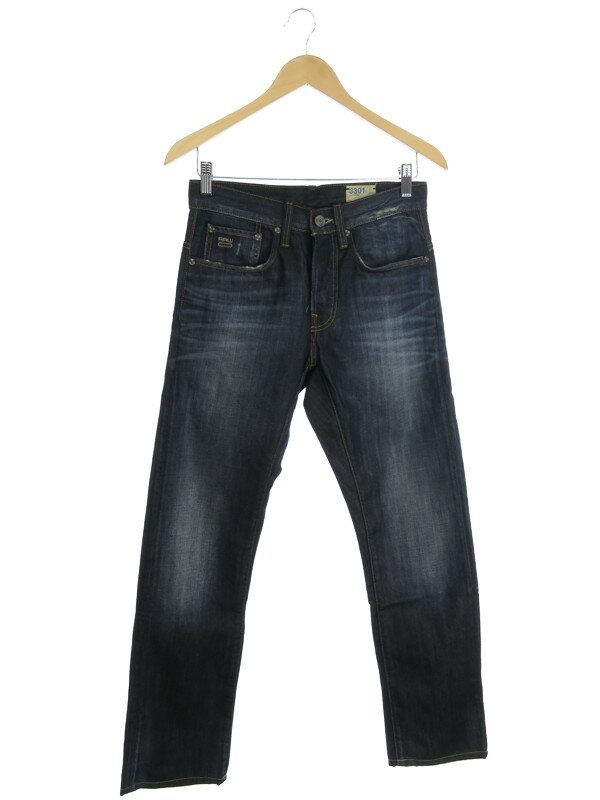 【G-STAR RAW】【ジーパン】【ボトムス】ジースターロゥ『3301 ジーンズ size29』メンズ デニムパンツ 1週間保証【中古】