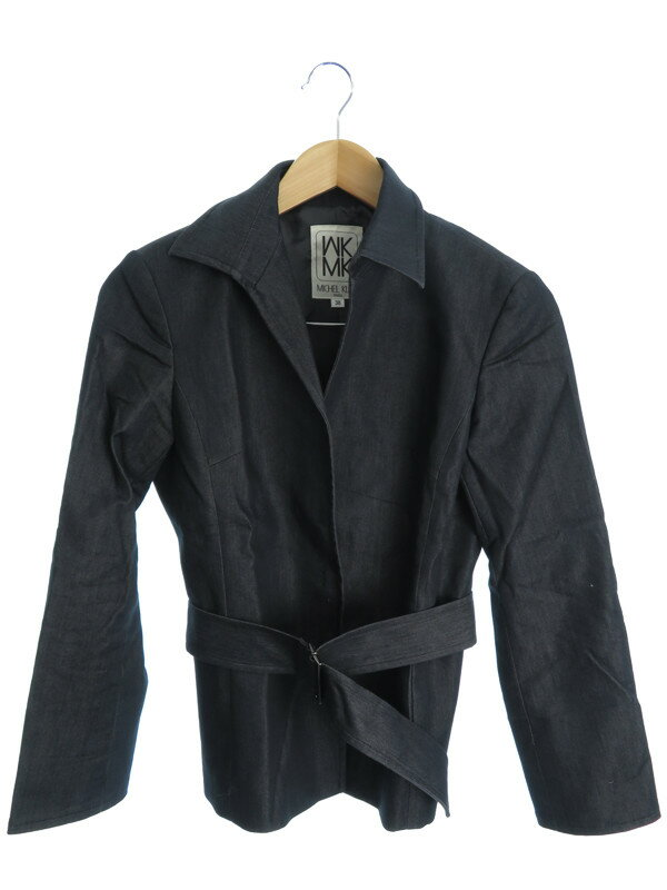 【MICHEL KLEIN】【上下セット】ミッシェルクラン『スカートスーツ size38』レディース セットアップ 1週間保証【中古】