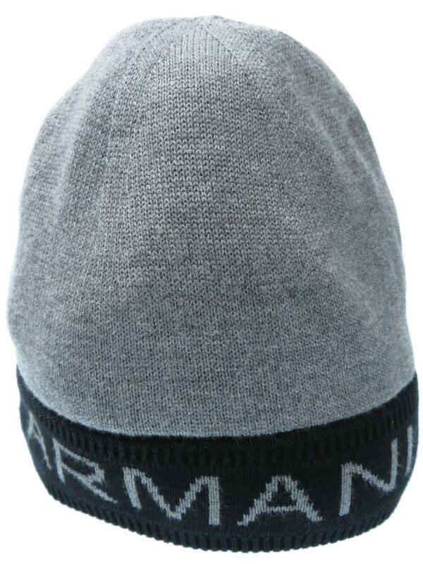 【ARMANI EXCHANGE】アルマーニエクスチェンジ『ニット帽 sizeF』メンズ 帽子 1週間保証【中古】
