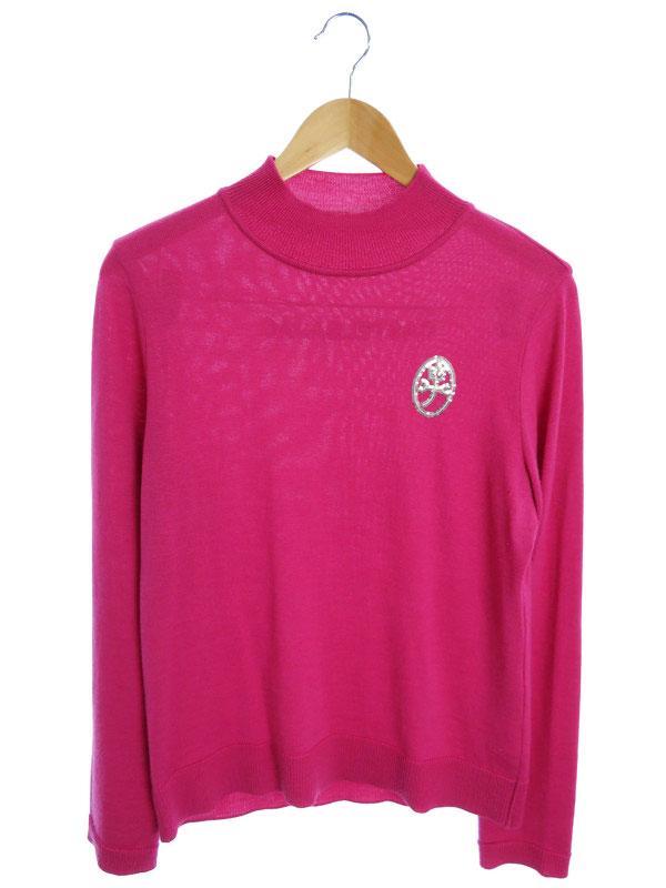 【CASTELBAJAC】【トップス】カステルバジャック『ウール長袖ニット size44』レディース セーター 1週間保証【中古】