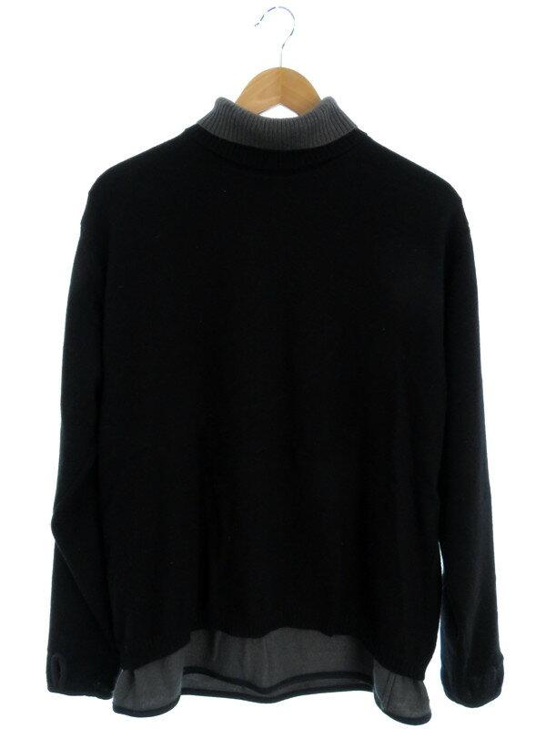 【UNDERCOVER】【トップス】アンダーカバー『重ね着風長袖ニット sizeM』メンズ セーター 1週間保証【中古】