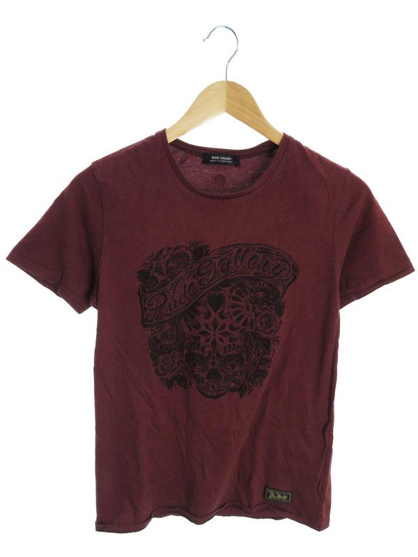 【RUDE GALLERY】【トップス】ルードギャラリー『コットン半袖Tシャツ size1』メンズ カットソー 1週間保証【中古】