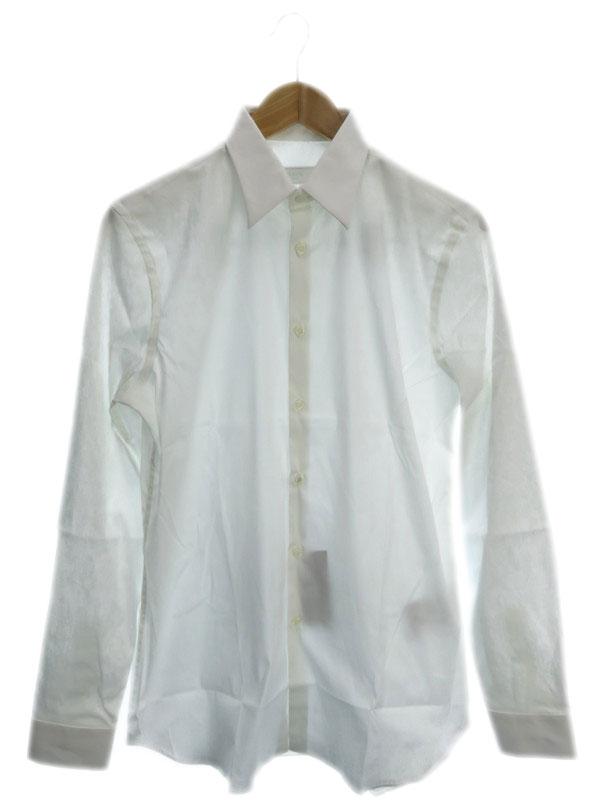 【PRADA】【トップス】【Yシャツ】プラダ『長袖シャツ size38/15』メンズ ワイシャツ 1週間保証【中古】