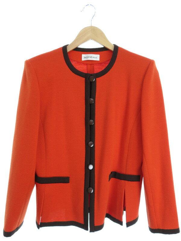 【YvesSaintLaurent】【上下セット】イヴサンローラン『セットアップスカートスーツ sizeM』レディース 1週間保証【中古】