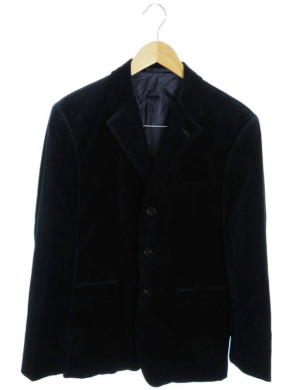 【Paul Smith London】【アウター】ポールスミス『ベロアテーラードジャケット sizeL』メンズ ブレザー 1週間保証【中古】