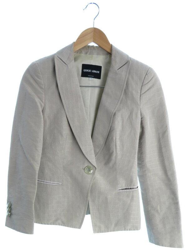 【Giorgio Armani】【アウター】ジョルジオアルマーニ『ジャケット size36』レディース ブルゾン 1週間保証【中古】