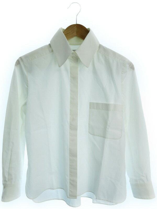 【CHANEL】【トップス】シャネル『長袖シャツ size40』レディース ブラウス 1週間保証【中古】