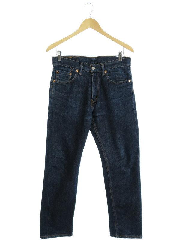 【LEVIS】【ボトムス】【ジーパン】リーバイス『505 ジーンズ sizeW30』メンズ デニムパンツ 1週間保証【中古】