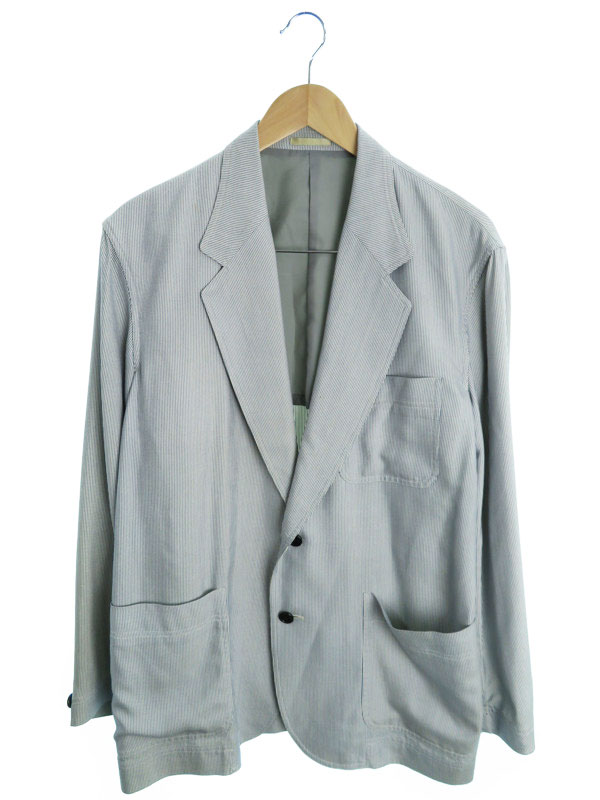 【Christian Dior】【MONSIEUR】【アウター】クリスチャンディオール『テーラードジャケット sizeM』メンズ ブレザー 1週間保証【中古】
