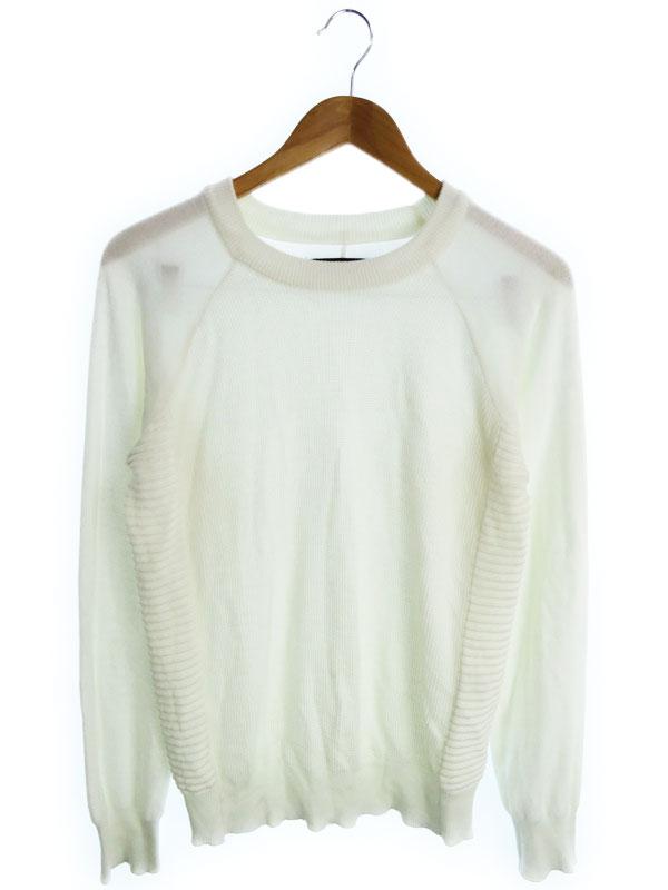 【1piu1uguale3】【トップス】ウノピゥウノウグァーレトレ『長袖ニット sizeL』メンズ セーター 1週間保証【中古】