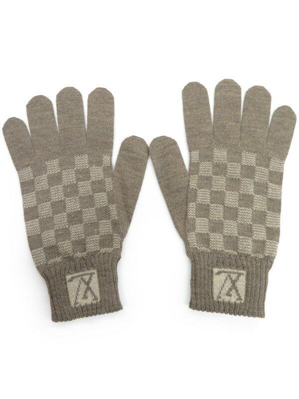 【LOUIS VUITTON】ルイヴィトン『ウール手袋 size21cm』メンズ 1週間保証【中古】