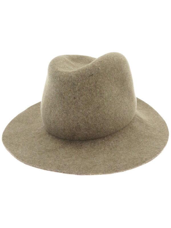 【rag & bone】【帽子】ラグアンドボーン『中折れウールハット sizeONESIZE』レディース 帽子 1週間保証【中古】