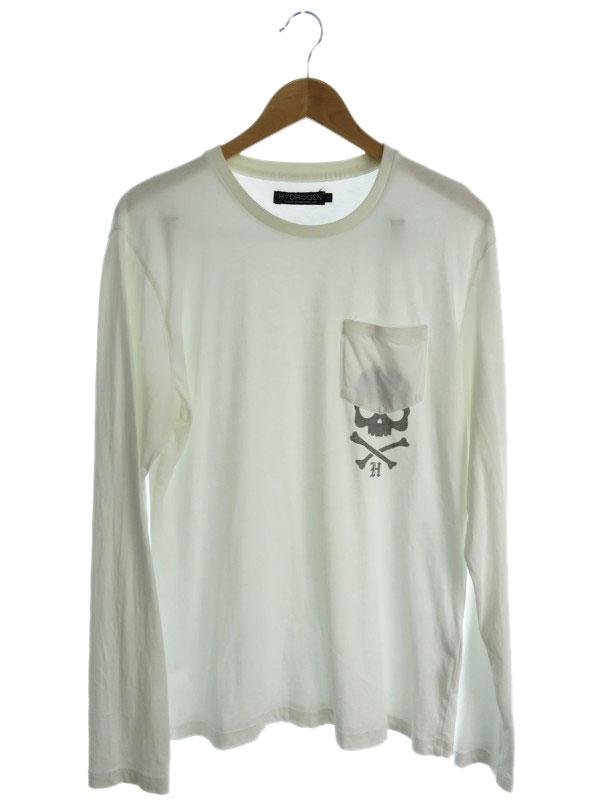 【HYDROGEN】【トップス】ハイドロゲン『長袖Tシャツ sizeXL』メンズ カットソー 1週間保証【中古】