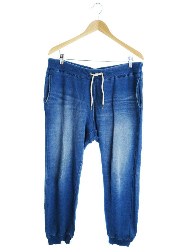 【R.H.Vintage】【ボトムス】【ジーパン】ロンハーマンヴィンテージ『スウェットデニムパンツ sizeL』メンズ ジーンズ 1週間保証【中古】