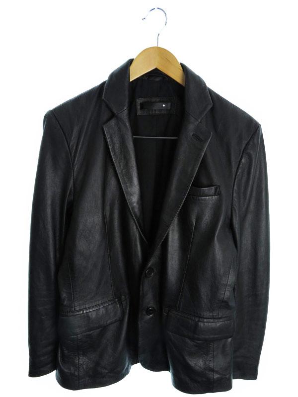 【Liugoo Leathers】【アウター】リューグーレザーズ『レザージャケット sizeL』メンズ 革ジャン 1週間保証【中古】