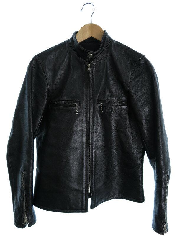 【The REAL McCOY'S】【BUCO】ザリアルマッコイズ『レザージャケット size40』メンズ 革ジャン 1週間保証【中古】