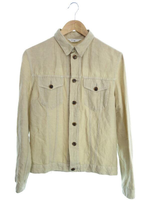 【EDIFICE】【アウター】エディフィス『リネン混ジャケット size38』メンズ 1週間保証【中古】