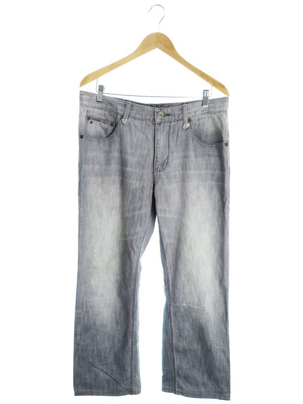 【TOMMY HILFIGER】【ボトムス】【ジーパン】トミーヒルフィガー『ジーンズ size34』メンズ デニムパンツ 1週間保証【中古】
