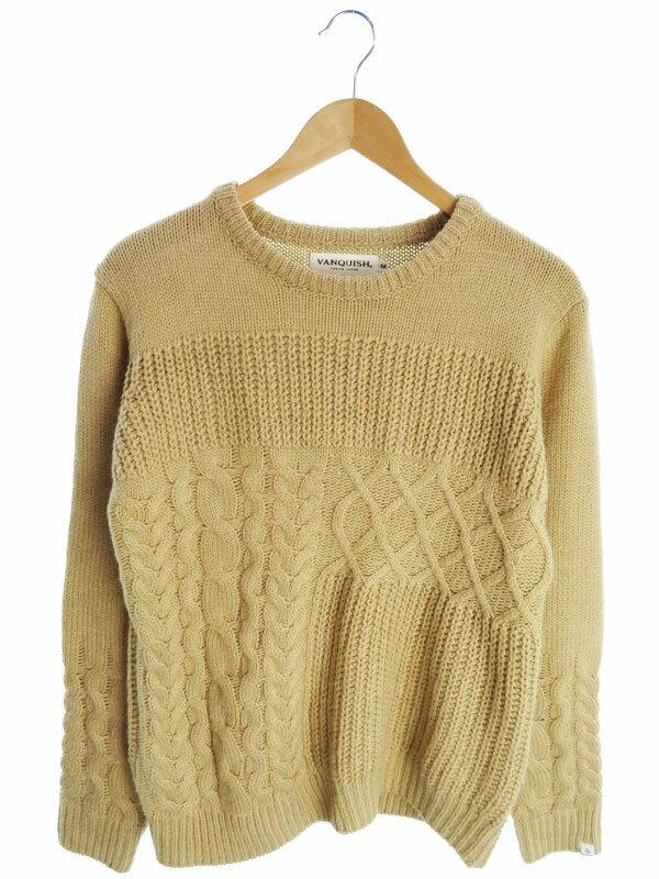 【VANQUISH】【トップス】ヴァンキッシュ『長袖ニット sizeM』メンズ セーター 1週間保証【中古】