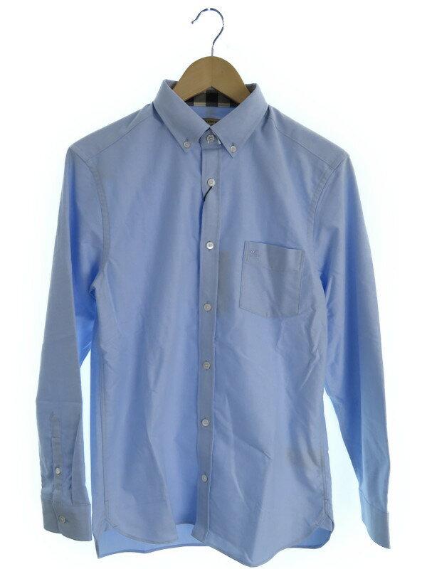 【BURBERRY】【トップス】バーバリー『長袖ボタンダウンシャツ sizeSSF』メンズ 1週間保証【中古】