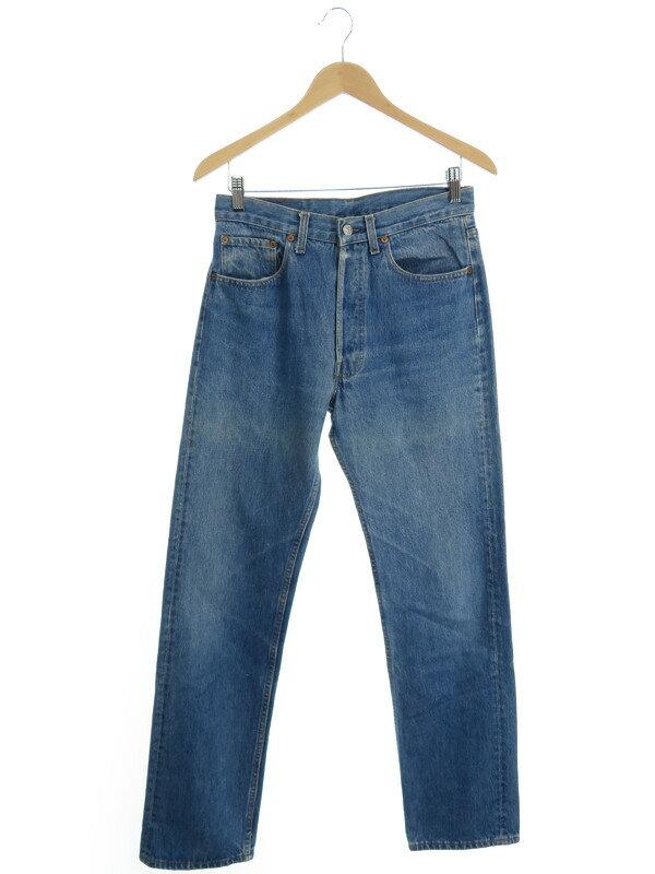 【LEVIS】【ボトムス】【ジーパン】リーバイス『501xx ジーンズ sizeW32』メンズ デニムパンツ 1週間保証【中古】