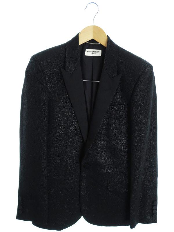 【SAINT LAURENT】【アウター】サンローラン『テーラードジャケット size44』メンズ ブレザー 1週間保証【中古】
