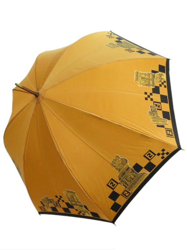 【FENDI】【雨傘】フェンディ『長傘』レディース 1週間保証【中古】