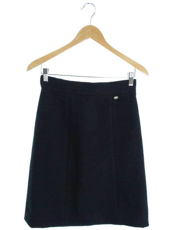 【CHANEL】【ボトムス】シャネル『ツイードスカート size36』レディース 1週間保証【中古】