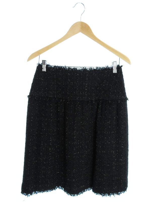 【CHANEL】【ボトムス】シャネル『ツイードスカート size38』レディース 1週間保証【中古】