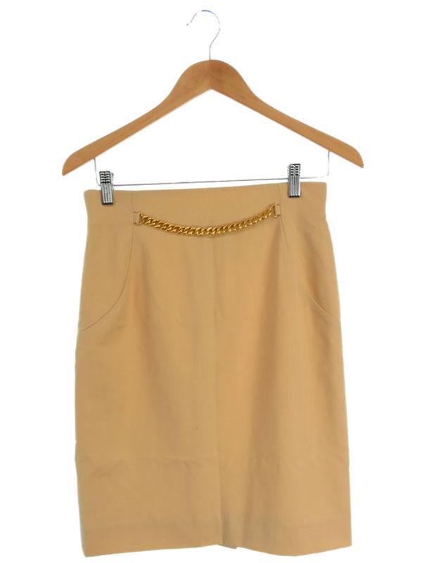 【CELINE】【ボトムス】セリーヌ『チェーン付 スカート size40』レディース 1週間保証【中古】