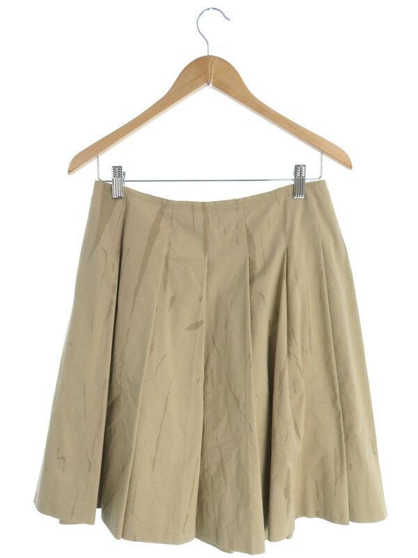 【PRADA】【ボトムス】プラダ『プリーツスカート size40』レディース 1週間保証【中古】