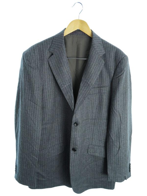 【TERRIT】【セットアップ】【2ピース】テリット『ベスト付スーツ上下セット size52』メンズ 1週間保証【中古】