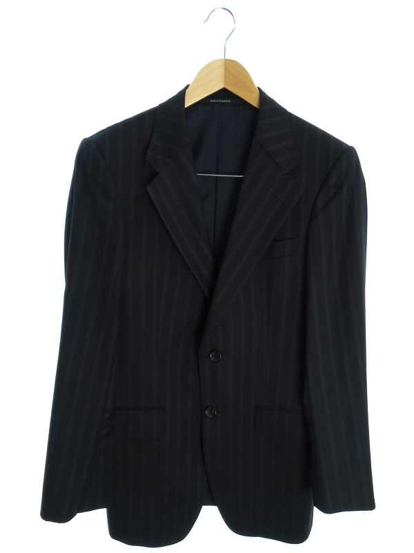 【GUCCI】【セットアップ】【2ピース】グッチ『スーツ上下セット size44C』メンズ 1週間保証【中古】