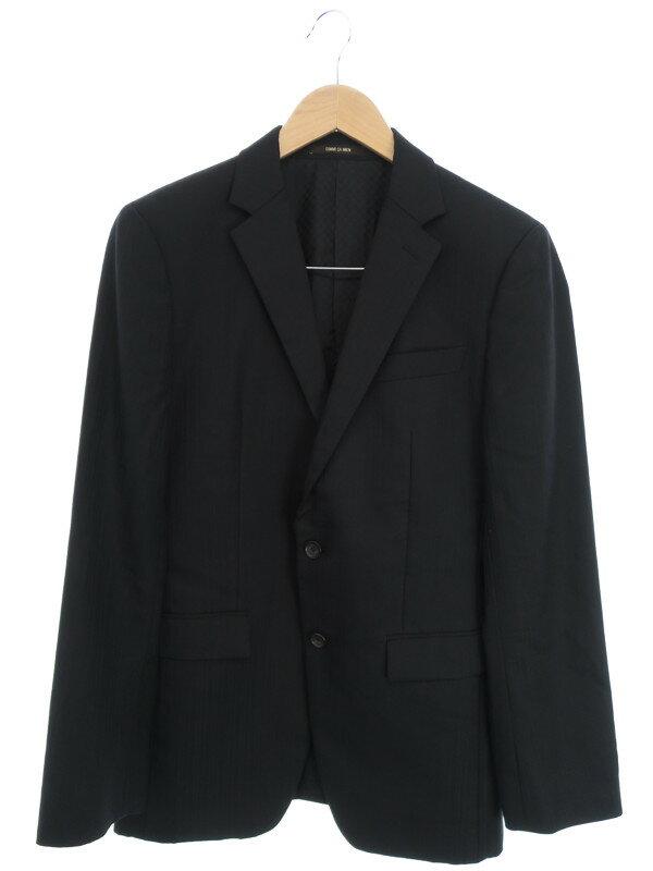 【COMME CA MEN】【上下セット】コムサメン『ストライプ柄スーツ size46』メンズ セットアップ 1週間保証【中古】