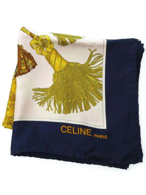【CELINE】セリーヌ『シルクスカーフ』レディース 1週間保証【中古】